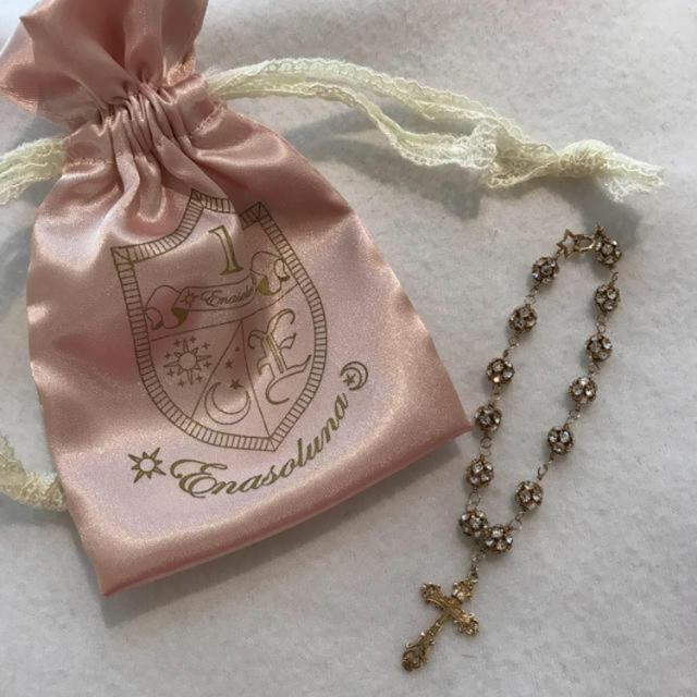Enasoluna(エナソルーナ)のEnasoluna【美品】クロスブレス レディースのアクセサリー(ブレスレット/バングル)の商品写真