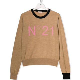 N°21 - ヌメロヴェントゥーノ N21 ! 2019AW ニット トップス 秋冬 ロゴ