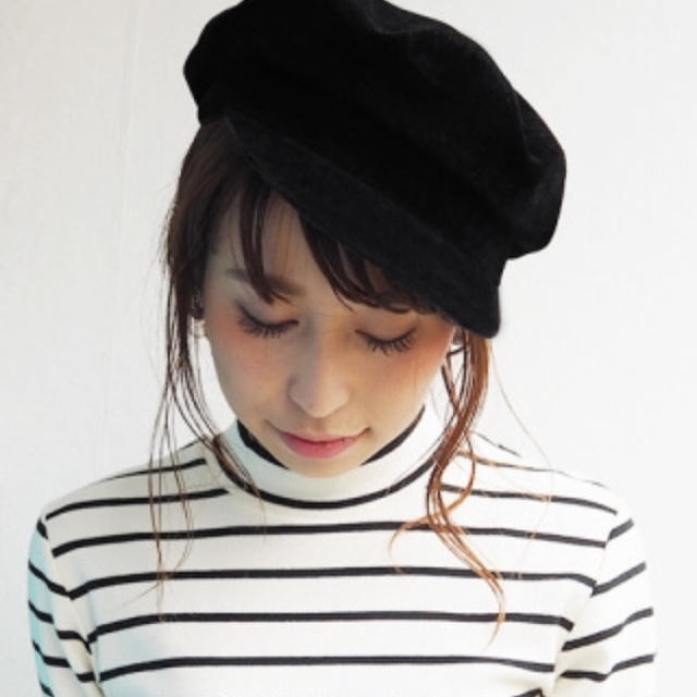 Ungrid(アングリッド)の【未使用】フェイクスウェードマリンキャップ レディースの帽子(キャスケット)の商品写真
