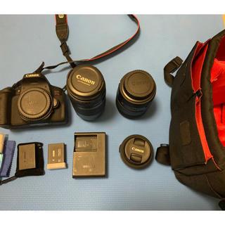 Canon - Canon kissx8i レンズ3本付き
