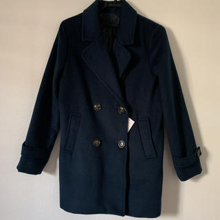 シマムラ(しまむら)の新品未使用 紺 コート イング ユニクロ GU しまむら(ピーコート)