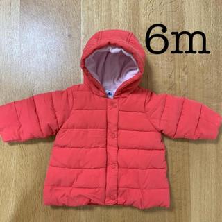 PETIT BATEAU - 新品未使用 プチバトー 6m 中綿ジャケット ピンク