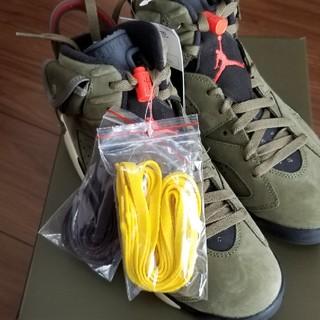 NIKE - Travis Scott × Nike Air Jordan 6 Olive