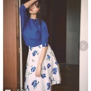 Rirandture - リランドチュール 花柄フレアスカート