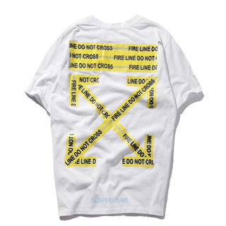 「海外爆発人気」オフホワイト off-white 白tシャツ XL 半袖(Tシャツ/カットソー(半袖/袖なし))