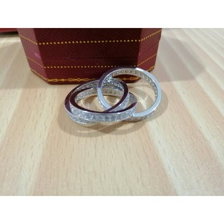 カルティエ(Cartier)の美品 Cartier カルティエ  指輪 リング 7 レディース (リング(指輪))