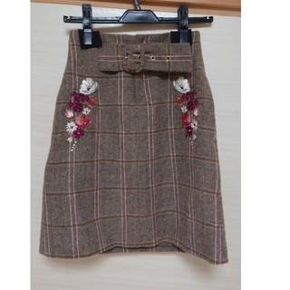 JILL by JILLSTUART - ジルバイジルスチュアート 刺繍 スカート