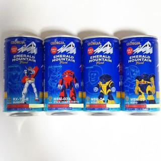 コカコーラ(コカ・コーラ)のジョージアエメマン×ガンダム コラボデザイン缶★4種類 ステージ4(コーヒー)