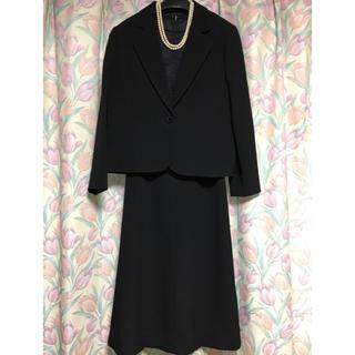 美品♡ブラックフォーマル シルノアール ロンシャン  冠婚葬祭 9号