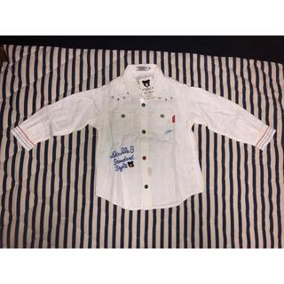 ダブルビー(DOUBLE.B)のミキハウス ダブルB 刺繍長袖シャツ 100センチ(その他)