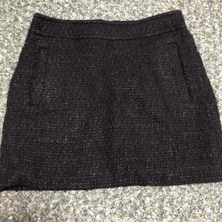 ドゥーズィエムクラス(DEUXIEME CLASSE)のツイードスカート(ミニスカート)