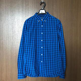 レイジブルー(RAGEBLUE)のRAGEBLUE B.DギンガムブロードシャツL/S 長袖チェックシャツ(シャツ)