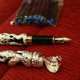 豪華な コブラ3D 装飾万年筆 です。(セットアップ)