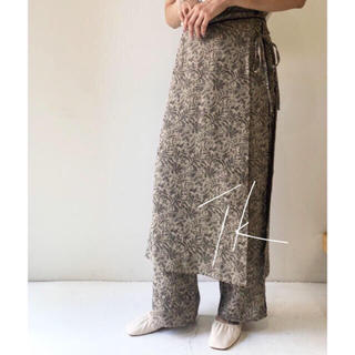 TODAYFUL - Jacquard Layered Pants