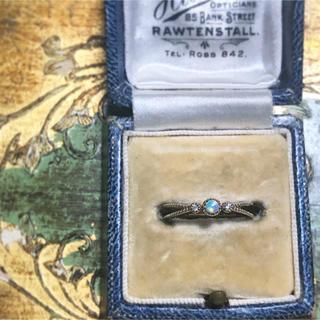 アガット(agete)のk10 オパール&ダイヤモンド リング(リング(指輪))