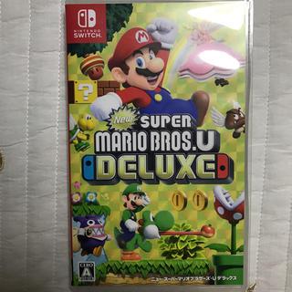 Nintendo Switch - New スーパーマリオブラザーズ U デラックス
