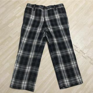 コムサイズム(COMME CA ISM)の長ズボン チェック 100cm コムサイズム(パンツ/スパッツ)