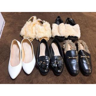 ザラ(ZARA)のZARA GU しまむら 靴セット(ハイヒール/パンプス)