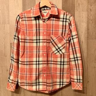 ロンハーマン(Ron Herman)の【RHC】チェックシャツ size XS(シャツ/ブラウス(長袖/七分))