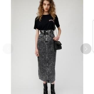 moussy - MOUSSY ハイウエスト デニムスカート