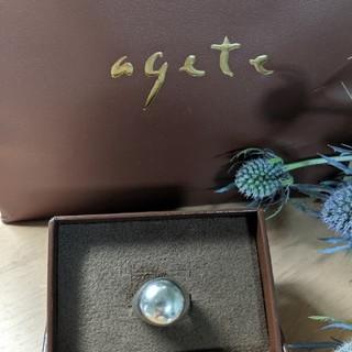 アガット(agete)のアガット シルバーリング(リング(指輪))