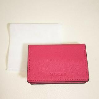 ミシャ(MISSHA)のMISSHA ミシャ ノベルティー カードケース(名刺入れ/定期入れ)
