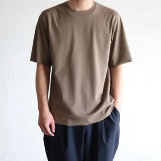 SUNSEA - 山内 フリーカット強撚ポンチTシャツ