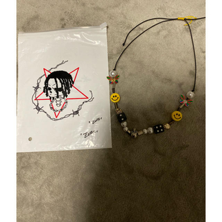 FEAR OF GOD - ASAP ROCKY SALUTE EVEA SMILEY ネックレス