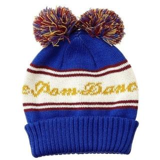 ビームス(BEAMS)の新品★ 送料無料 BEAMS(ビームス) 可愛いダブルボンボン付きニット帽(ニット帽/ビーニー)