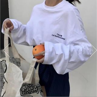 dholic - ☺︎完売商品☺︎ ルーズロングスリーブTシャツ