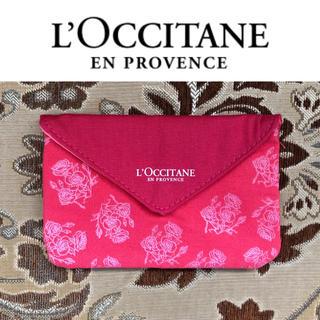 L'OCCITANE - 未使用 ロクシタン ミニポーチ  ローズベルベット柄
