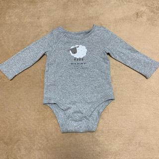 ベビーギャップ(babyGAP)のベイビーギャップ 70サイズ 長袖ロンパース Baby GAP(ロンパース)