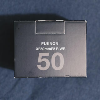 富士フイルム - FUJIFILM XF50mm F2 R WR 美品