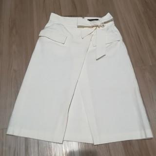 Demi-luxe ホワイトスカート