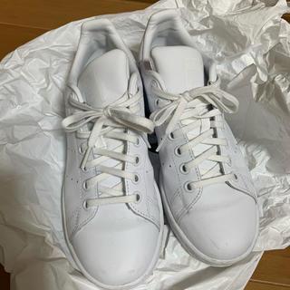 アディダス(adidas)のアディダススタンスミス オールホワイト(スニーカー)