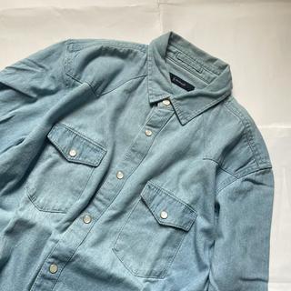 レイジブルー(RAGEBLUE)のRAGEBLUE ウエスタンデニムシャツL/S 長袖ワークシャツ レイジブルー(シャツ)