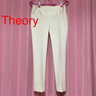 セオリー(theory)の♡Theory♡ シルク混 ストレッチ パンツ XO(カジュアルパンツ)