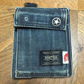 ポーター(PORTER)のTMT ポーター デニムウォレット(折り財布)
