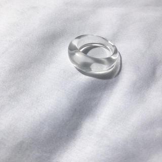 トゥデイフル(TODAYFUL)の▫️1点限定▫️Narrow clear ring(リング(指輪))