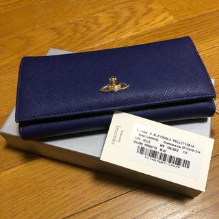 Vivienne Westwood - ヴィヴィアンウエストウッド 長財布 ブルー