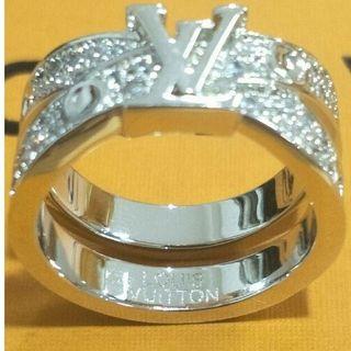 ルイヴィトン(LOUIS VUITTON)の 超美品LV ルイヴィトン リング指輪 正規品(リング(指輪))