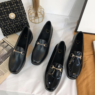 ビット付きローファーパンプス(ローファー/革靴)
