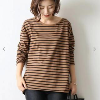 Spick and Span - Spick & Span CLASSIC コットンセットバックTシャツ
