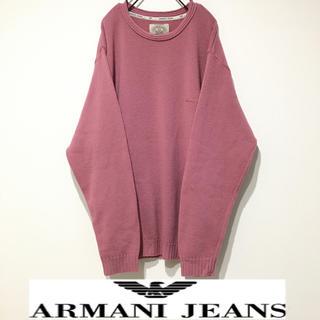 ARMANI JEANS - アルマーニ イタリア製 ゆるダボ ニット