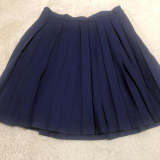 ランバンオンブルー(LANVIN en Bleu)のランバン プリーツスカート(ひざ丈スカート)