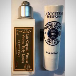 L'OCCITANE - ロクシタン リップバーム&バーベナローション