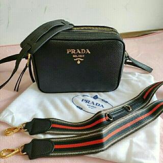 PRADA -  PRADA 黒プラダ ショルダーバッグ