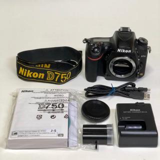 Nikon - Nikon ニコン D750 作動良好実動良品 フルサイズ一眼レフデジタルカメラ
