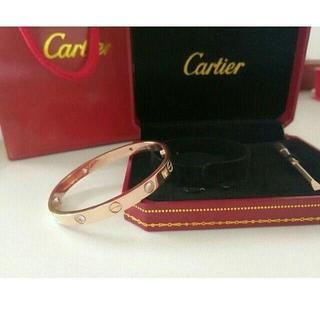 カルティエ(Cartier)の美品Cartier カルティエブレスレットラブブレス(ブレスレット/バングル)