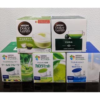 Nestle - ネスカフェ ドルチェグスト カプセル 5箱